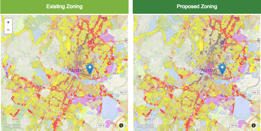 Austin Zoning Map City Of Austin Releases Draft Of CodeNEXT Map | KUT Austin Zoning Map