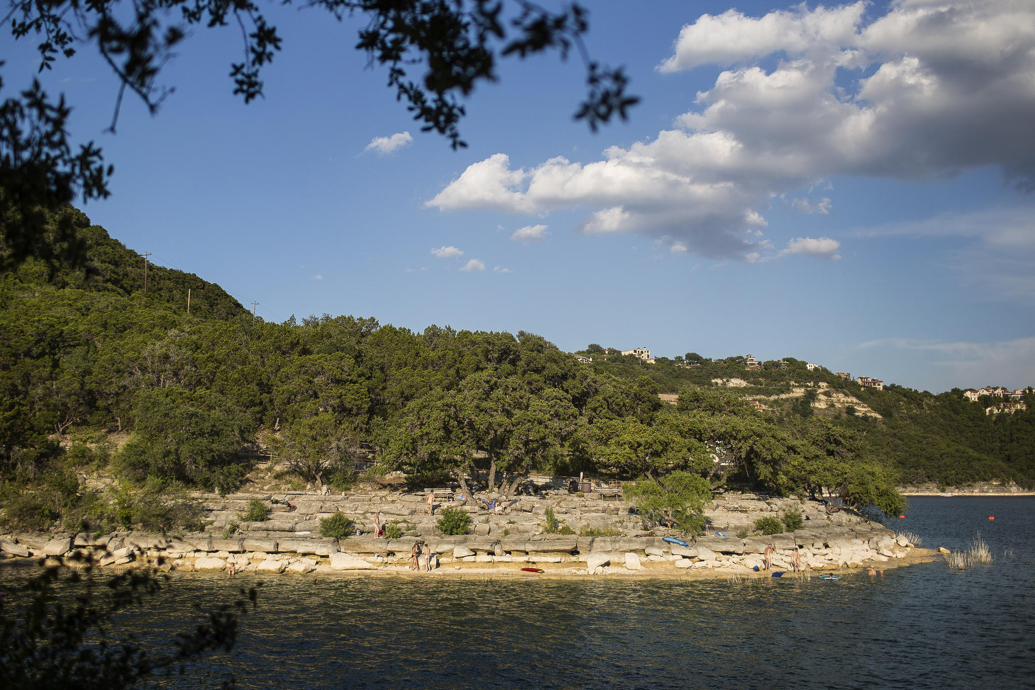 Folks Have Been Coming To Swim At Hippie Hollow On The S Of Lake Travis For Decades