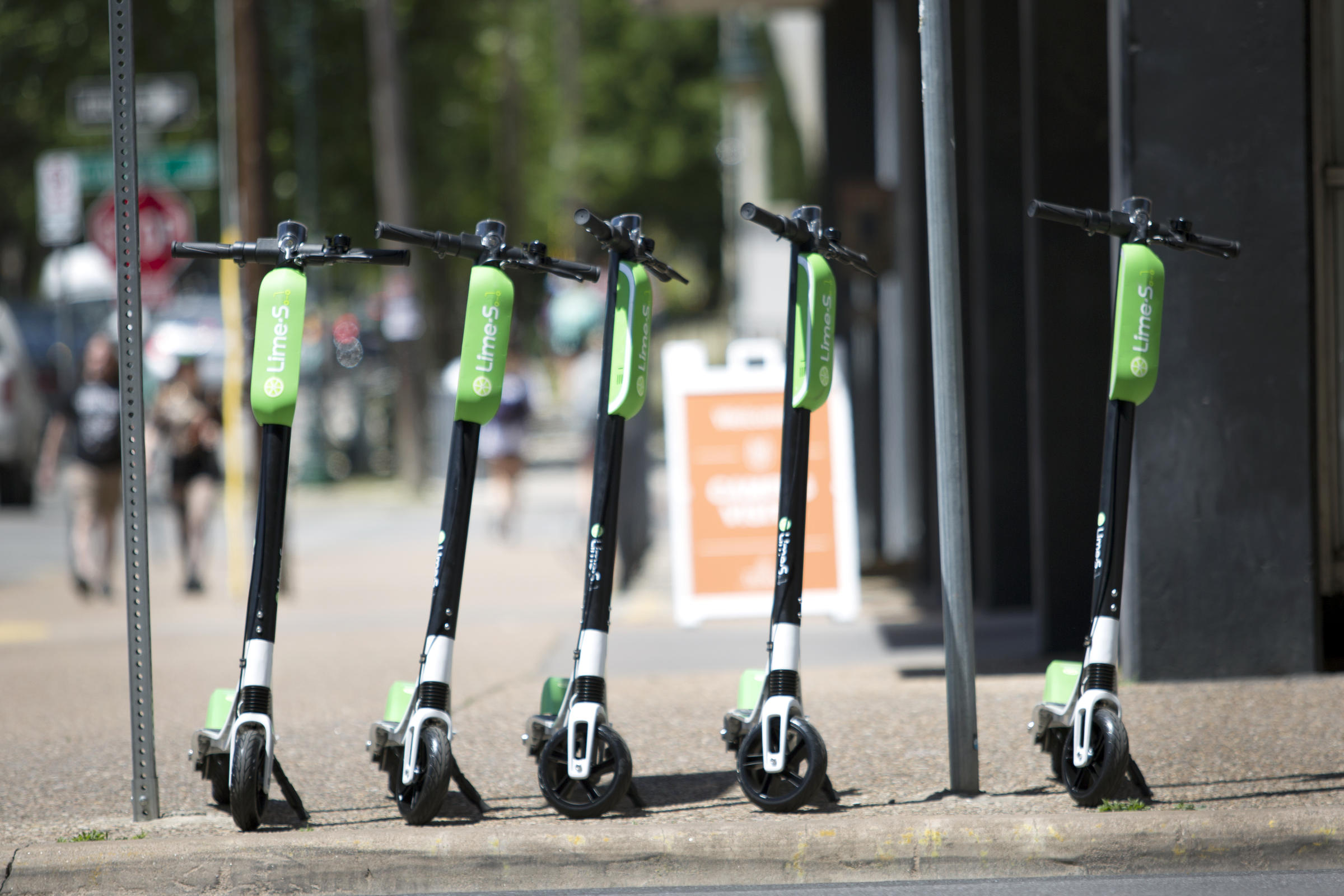 After Two Dockless Scooter Companies Launch In Austin, City