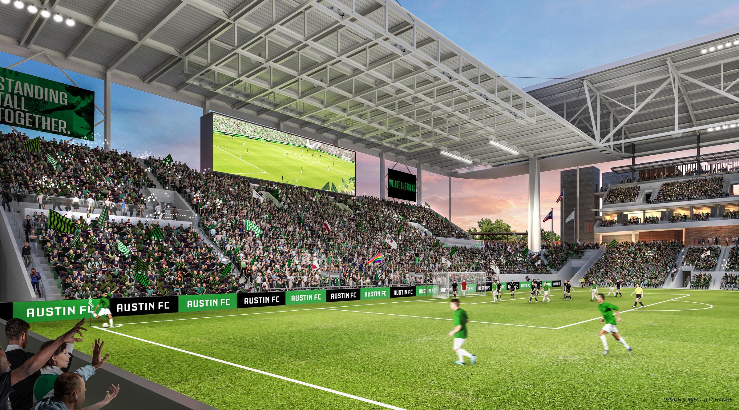here s what austin s major league soccer stadium is going to look like kut major league soccer stadium
