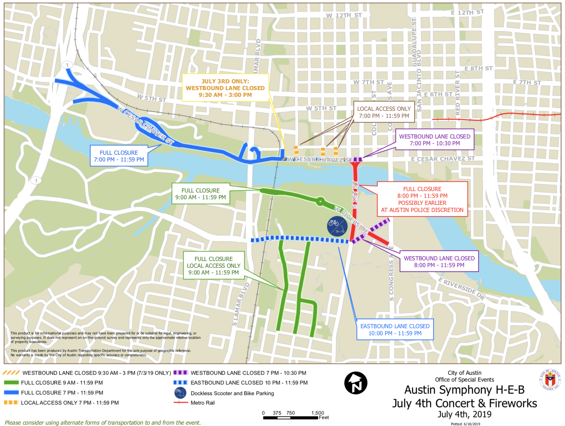 How To Celebrate July Fourth In Downtown Austin With
