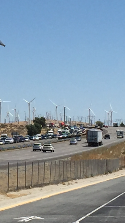Coachella Exit Thickens Traffic Through IE
