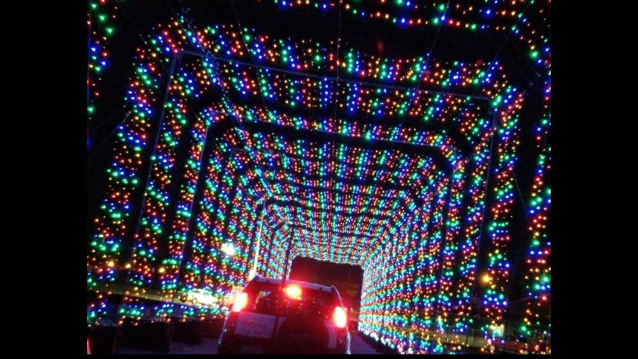 Speedway Christmas Lights.Fontana S Auto Club Speedway Introduces Drive Thru Holiday