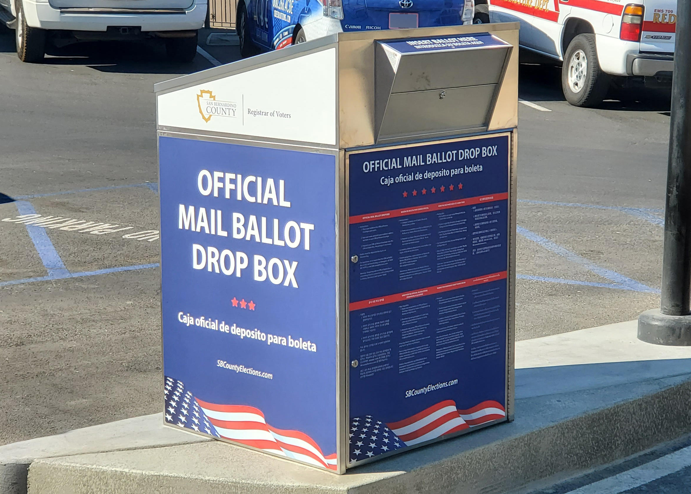 Ballots Are Headed To Voter Mailboxes And Early Voting Begins In The Inland Empire 91 9 Kvcr