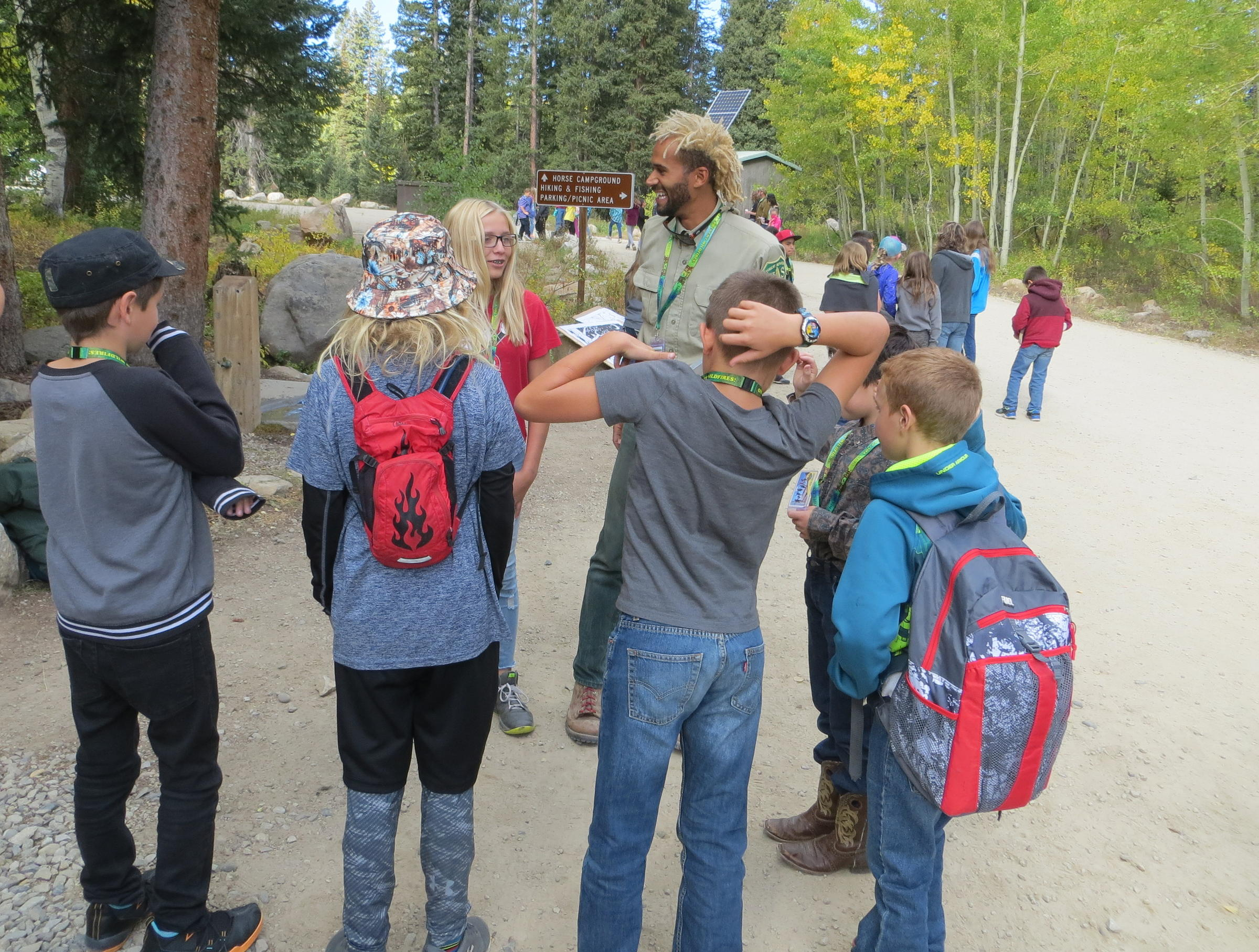 Local Motion Outdoors Programs For Kids Kvnf Public Radio