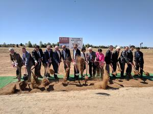 With Clovis Groundbreaking, Proposed Medical School One Step Closer To Reality   KVPR