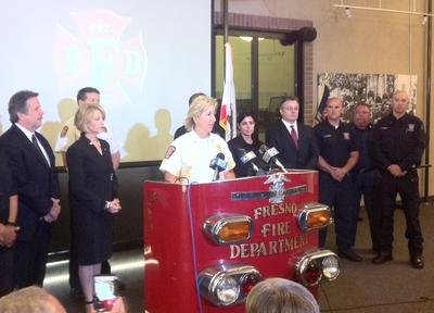 Woman Arrested For Starting Blaze That Injured Fresno Fire