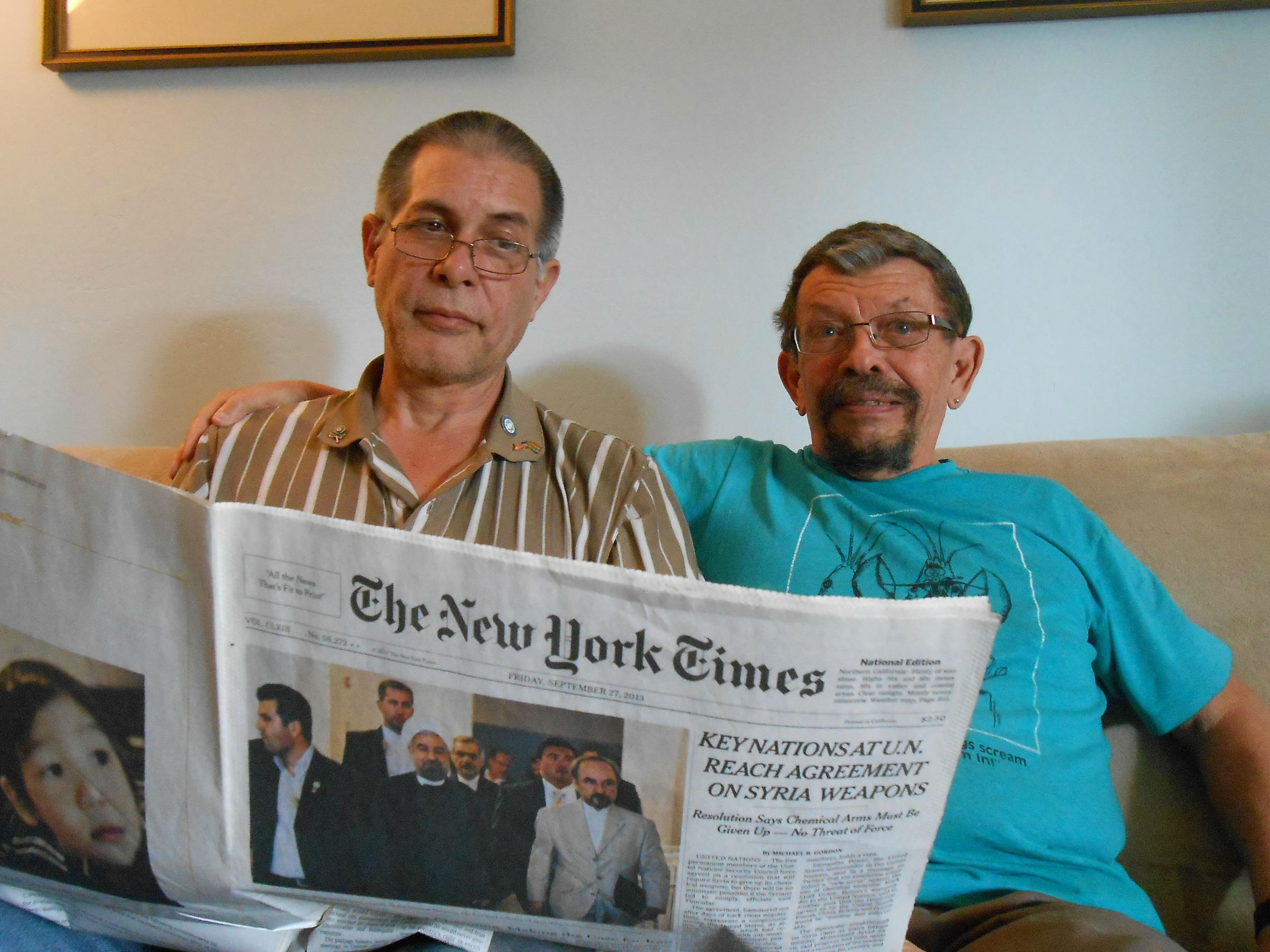 Returning Home, Valley LGBT Veterans Fight Another War | Valley