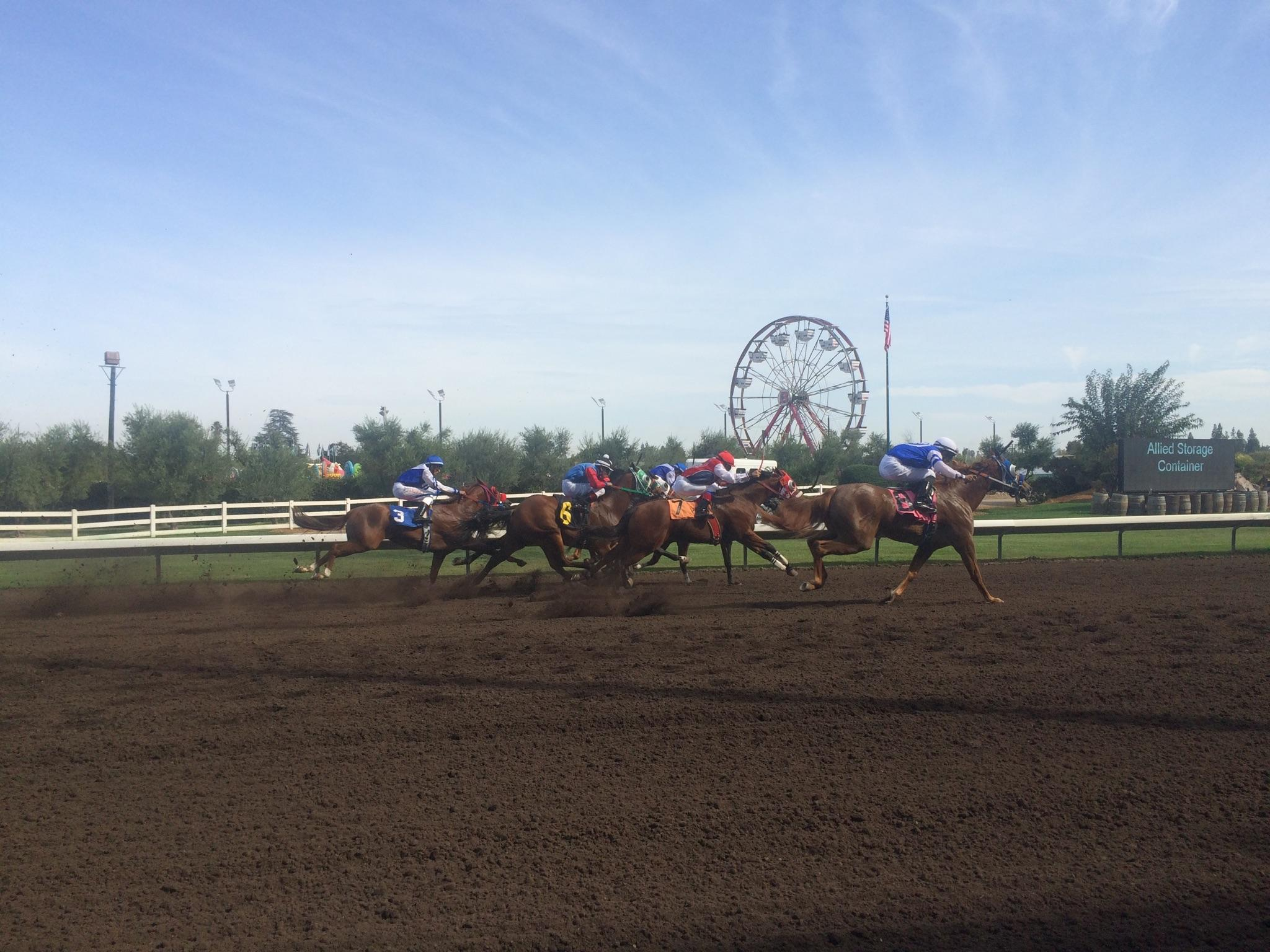 Not Just Horses Racing At The Big Fresno Fair, But Little