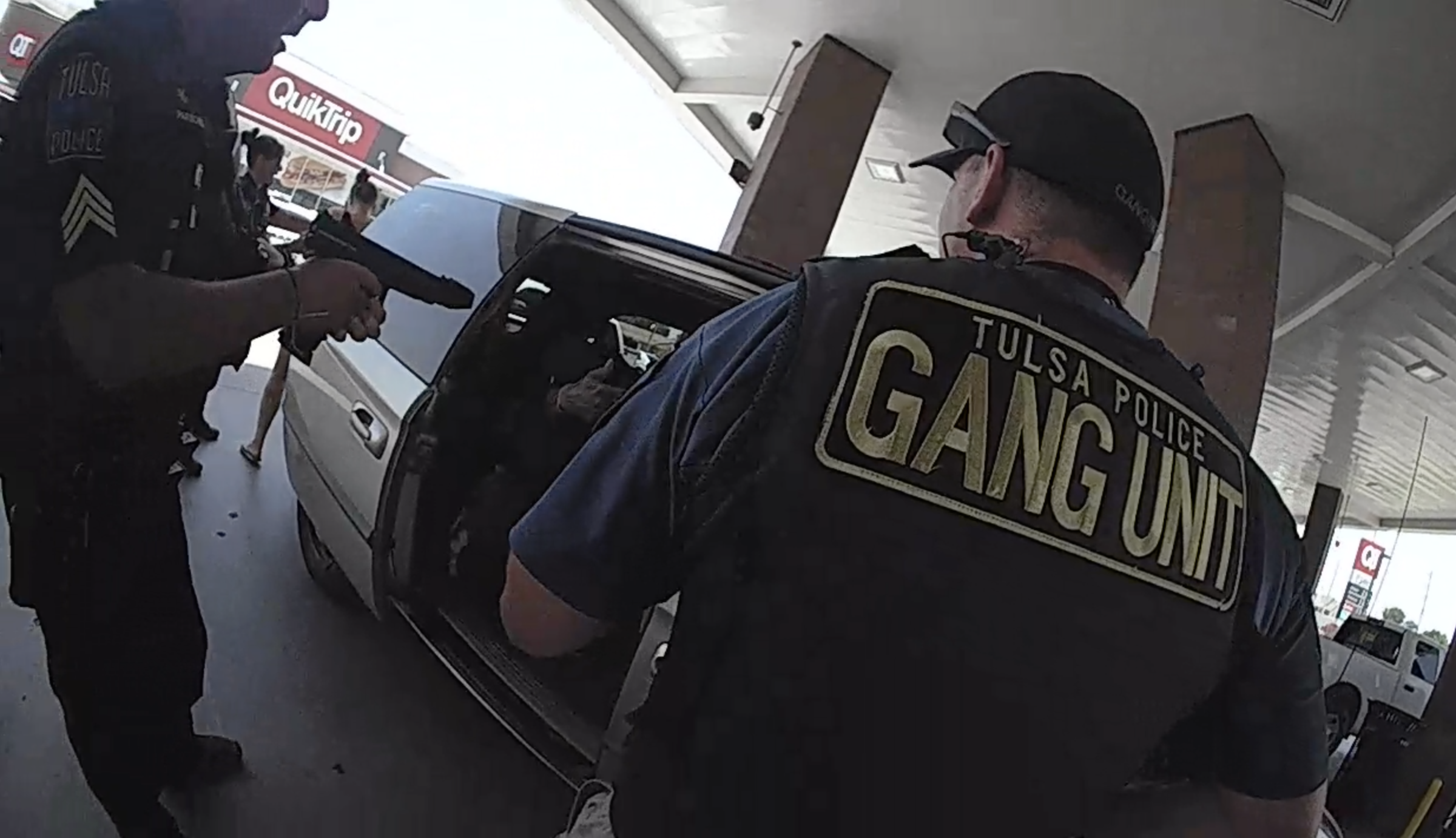 Tulsa Police Release Body Cam Footage of July 3 QuikTrip Shooting
