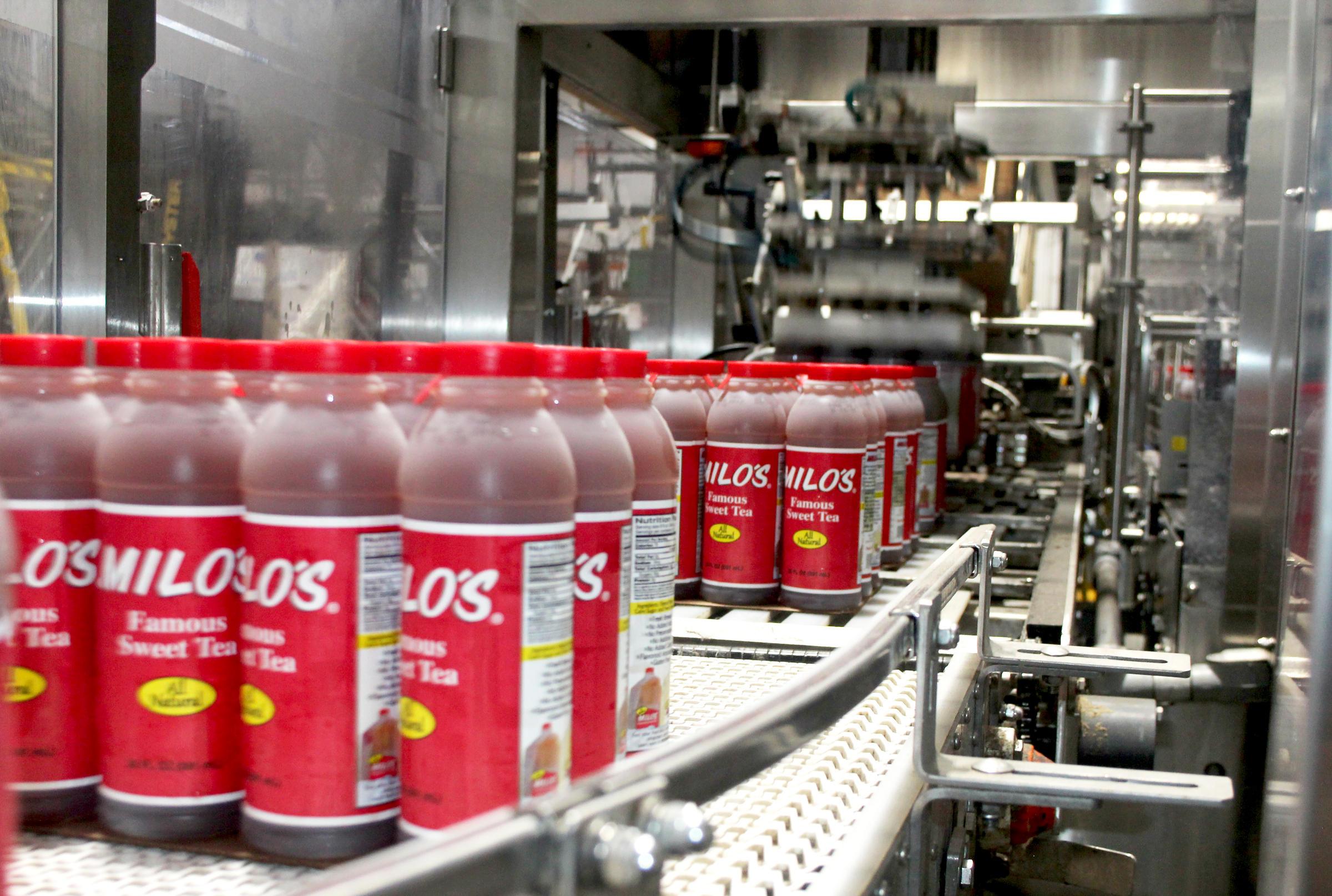 Alabama-Based Milo's Tea Company Plans to Open Owasso Plant