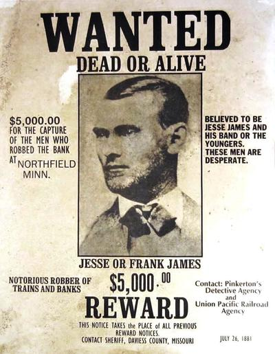Jesse James' Train Robbery and Creation of a Myth | KWIT