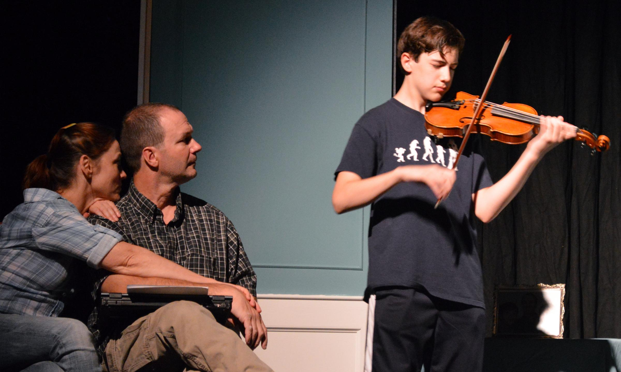 Violinist Uses Mystery Plot To Illuminate Autism At STL s
