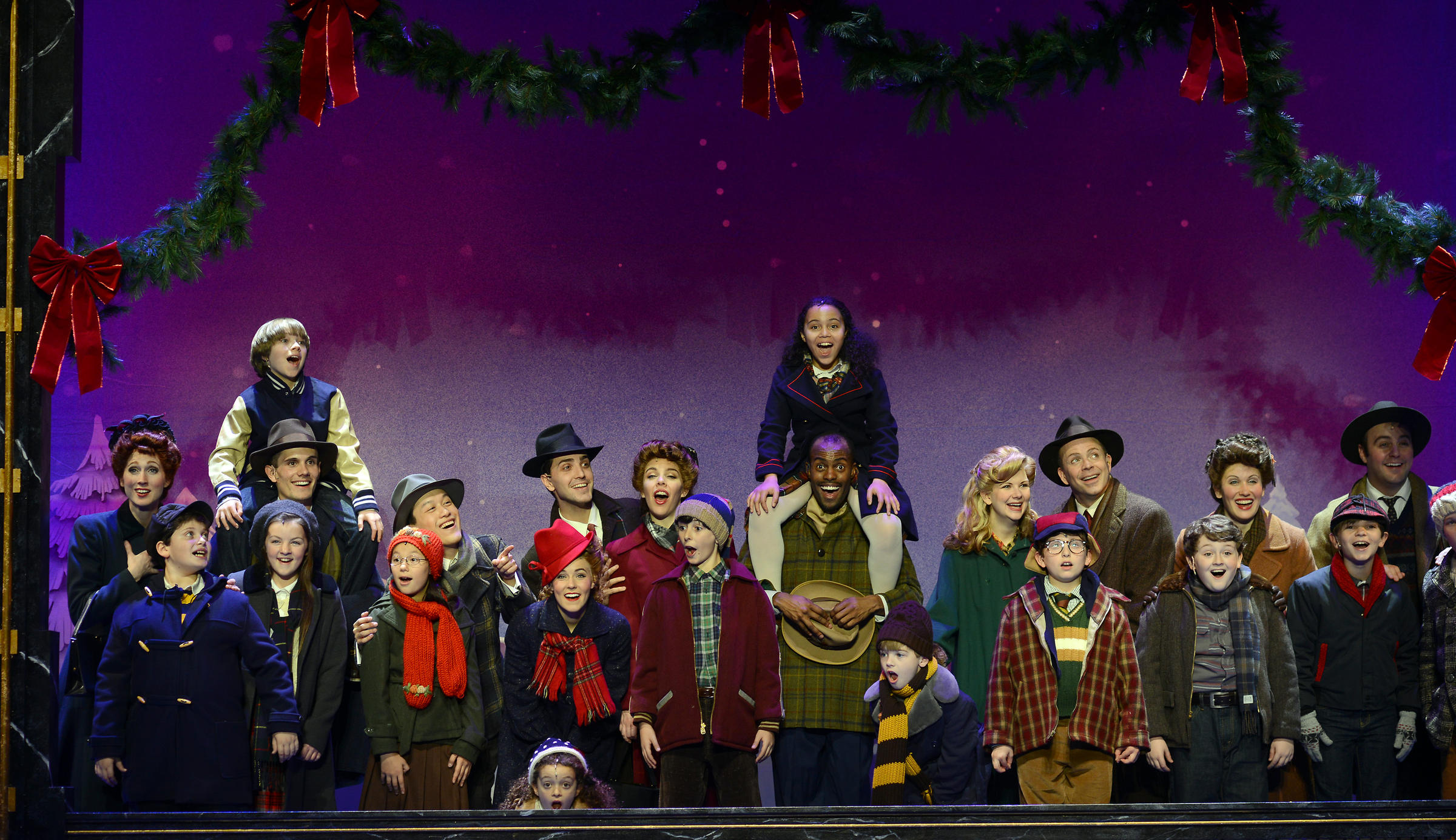 A Christmas Story The Musical.St Louis Teen Part Of A Christmas Story St Louis