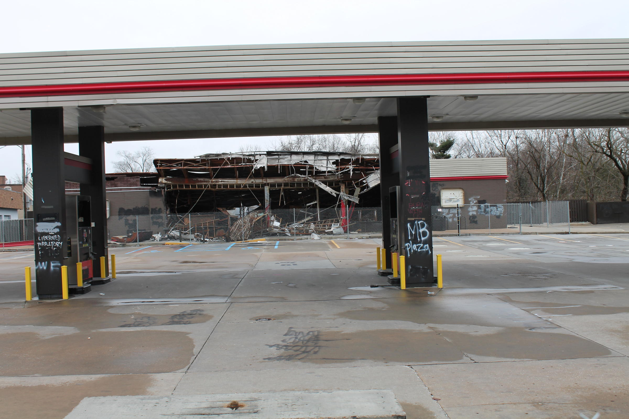 Urban League center at site of burned-out QuikTrip will