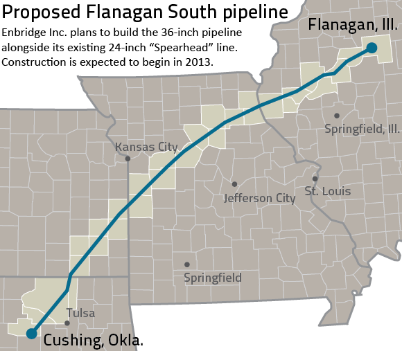 Flanagan South Pipeline raises concerns, offers benefits to