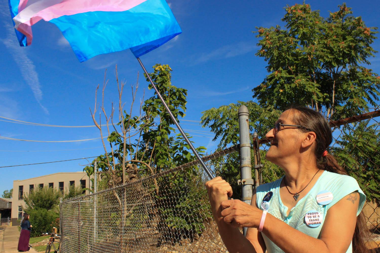 Time to start yelling again': For transgender veterans in