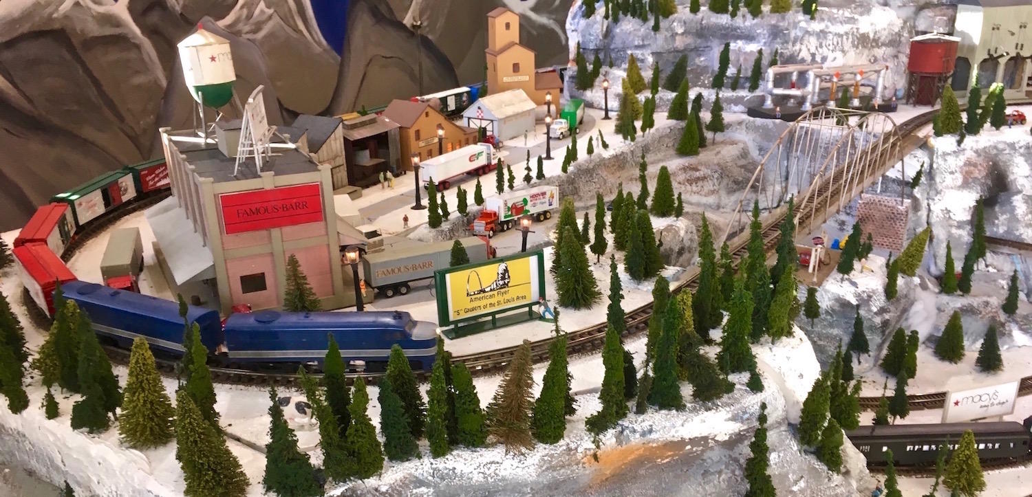 For local fans of model trains, the