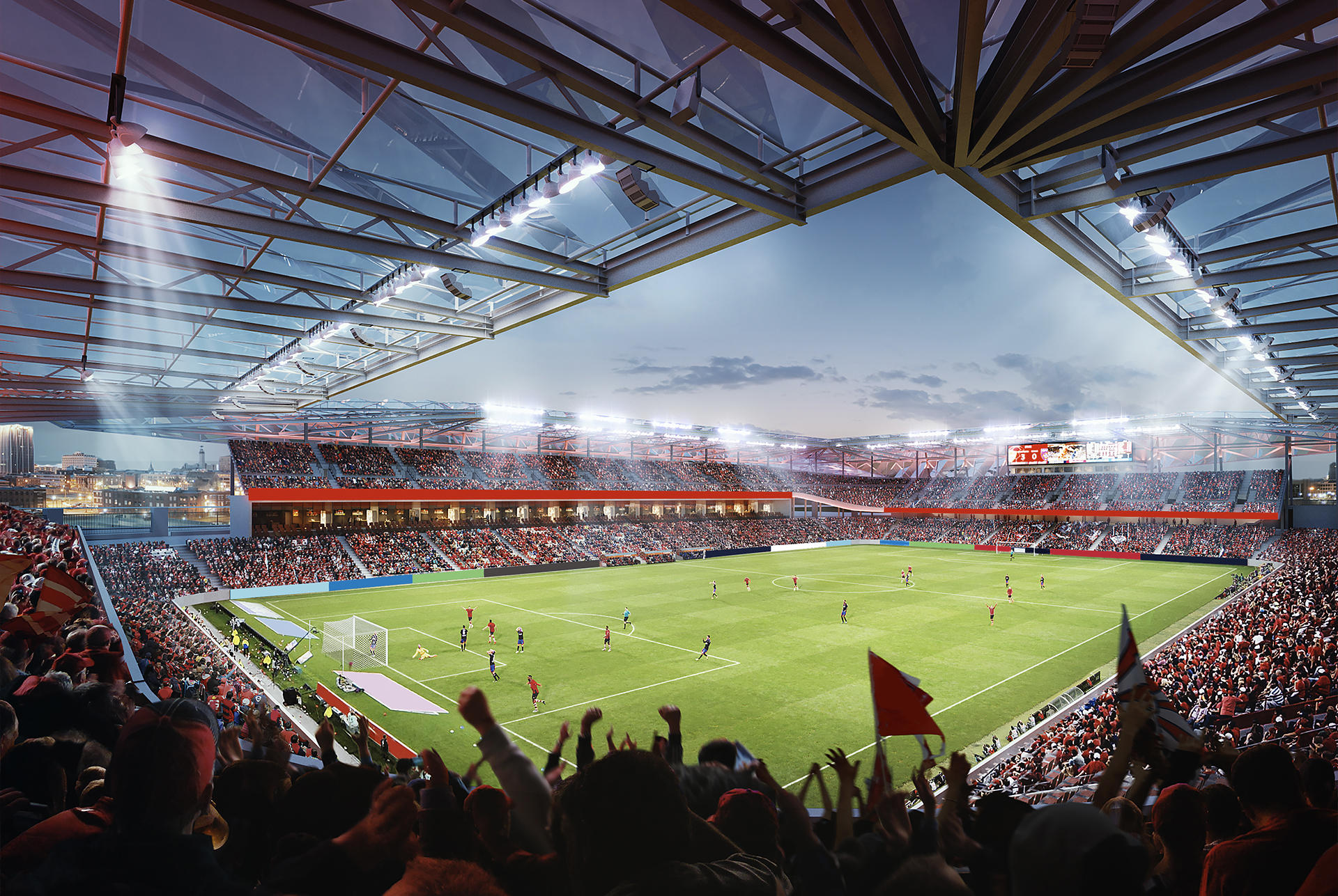 First Look: Design For Proposed Professional Soccer ...