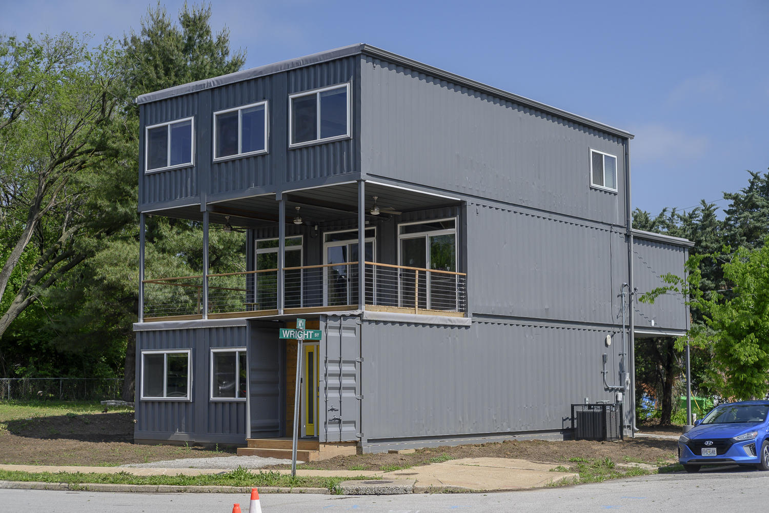 Awesome Inside St Louis First Home Built From Shipping Containers Home Remodeling Inspirations Propsscottssportslandcom