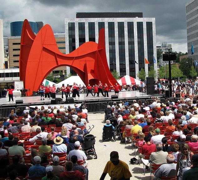 Grand Rapids Festival Of The Arts Was Put On By Council Greater Until 2002 When Spun Off Will Continue