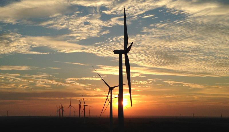 A Starwood wind farm in Clay County, Texas