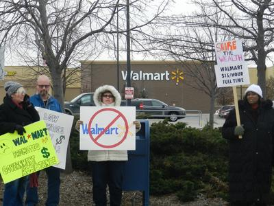 Protesters Join Shoppers At Black Friday Sales In Michigan Michigan Radio