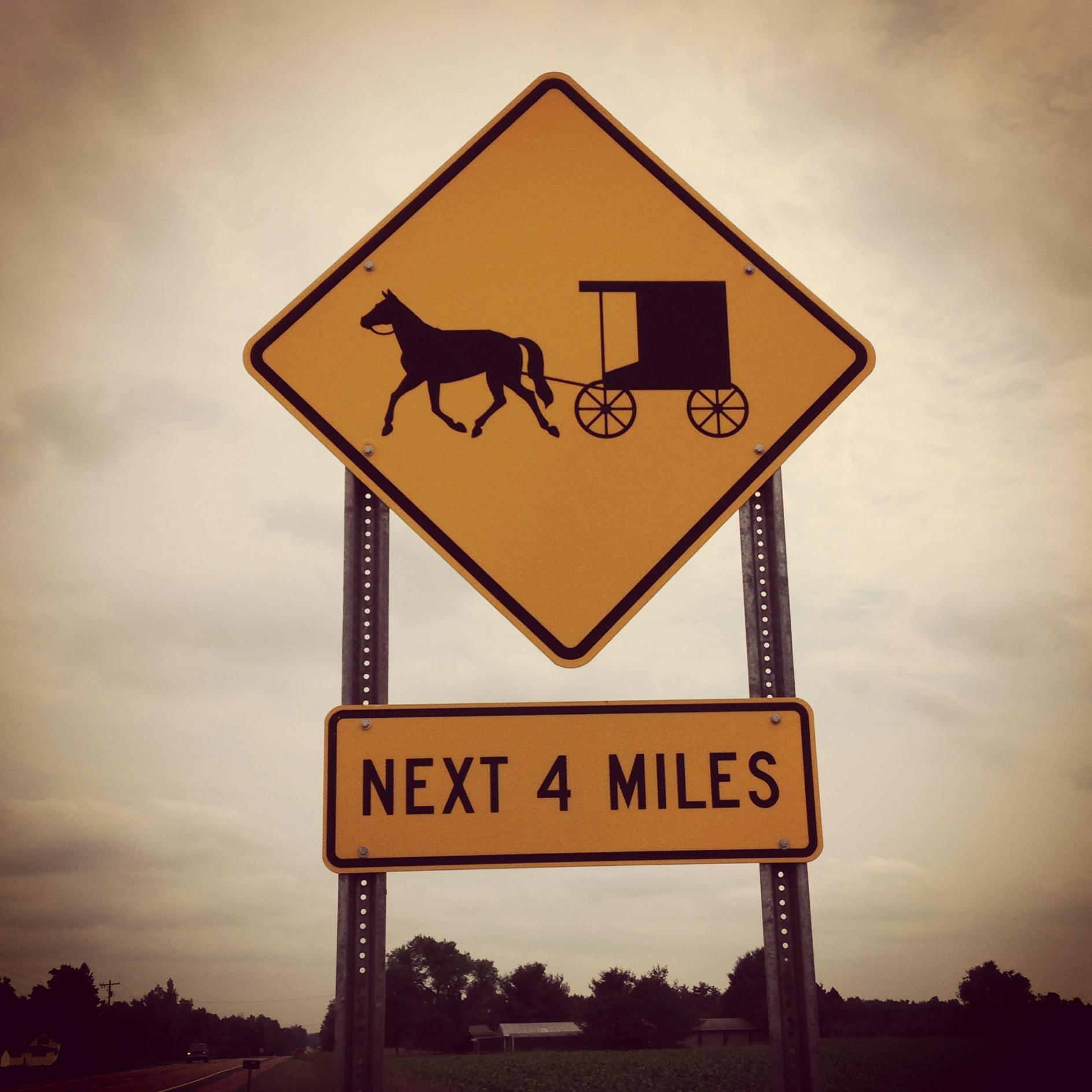 An Amish community modernizes in Michigan: Goodbye horse and