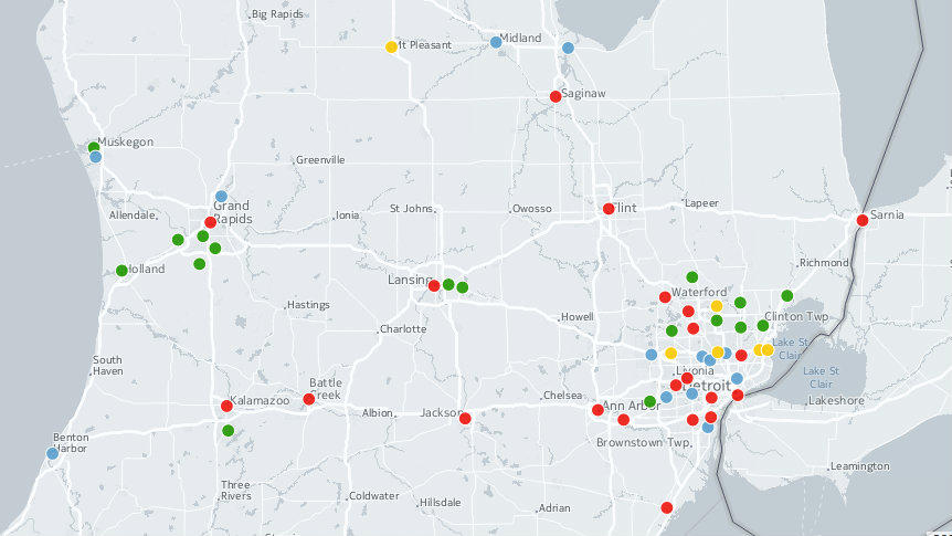 In Flint Mi Theres So Much Lead In >> Where Are Lead Water Pipes In Michigan Here S Our Best Guess