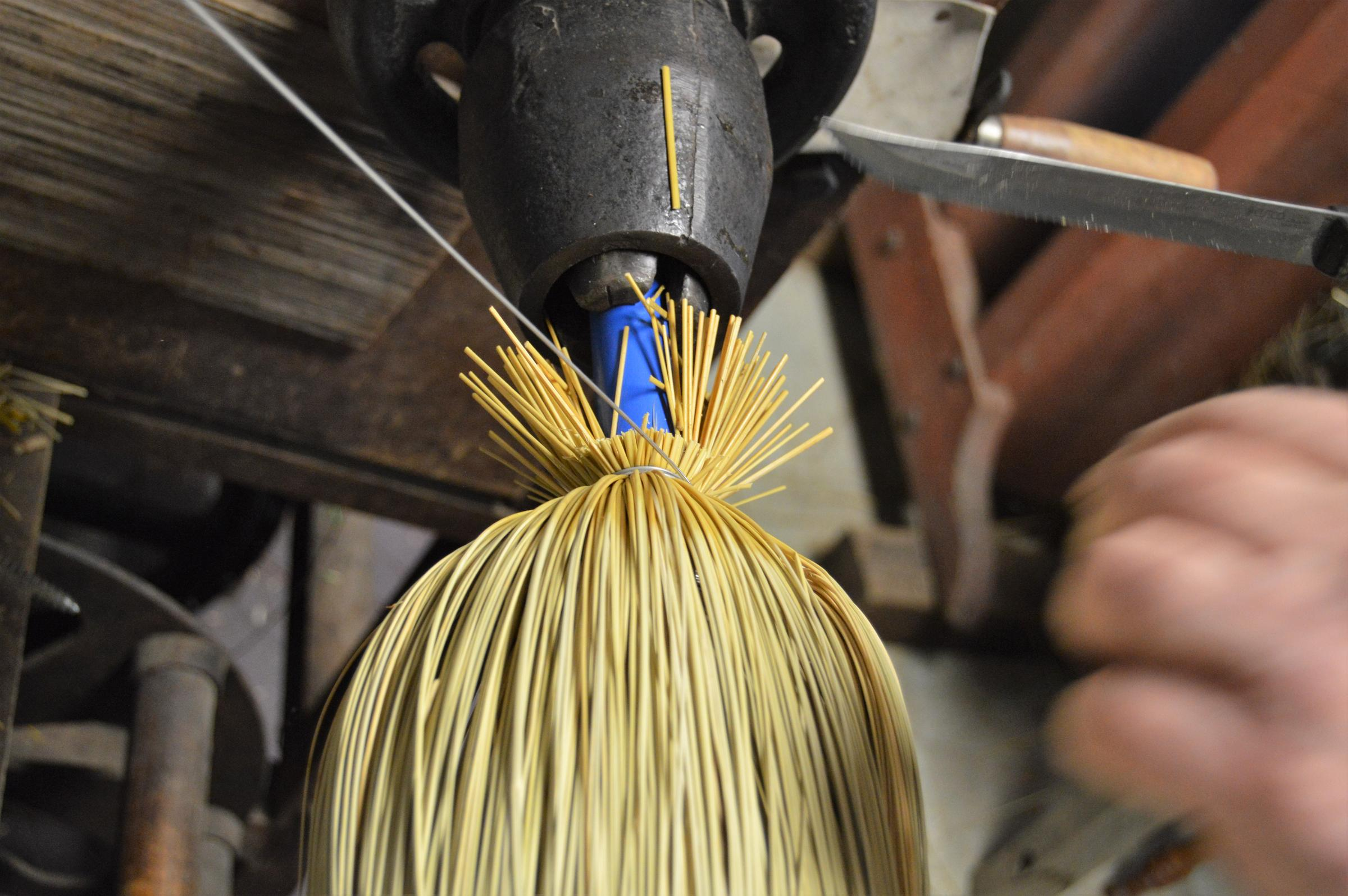 Artisans of Michigan: Sweeping up as a broom-squire   Michigan Radio