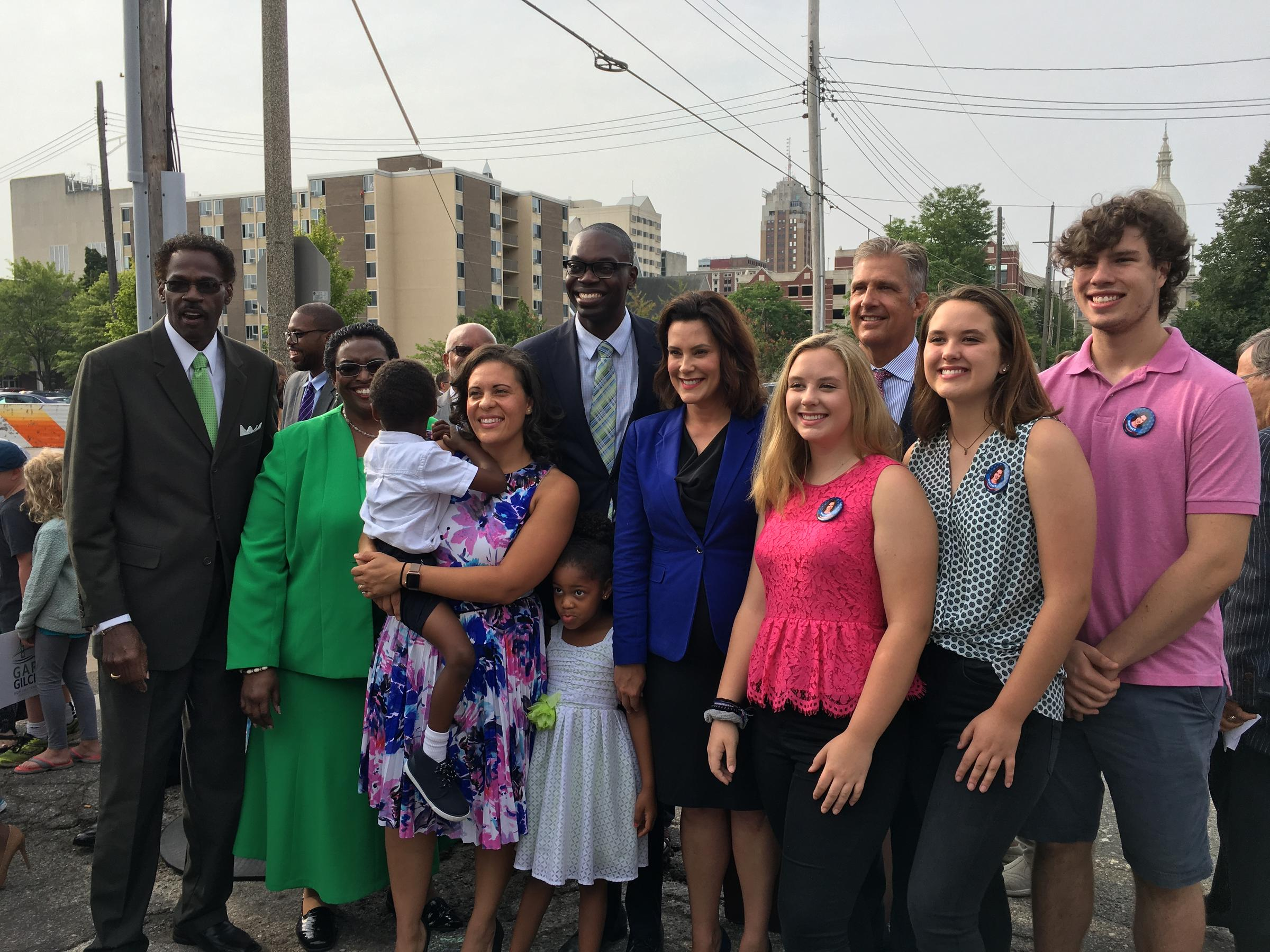 Gretchen Whitmer Names Detroit Native Garlin Gilchrist Ii As Running Mate Michigan Radio