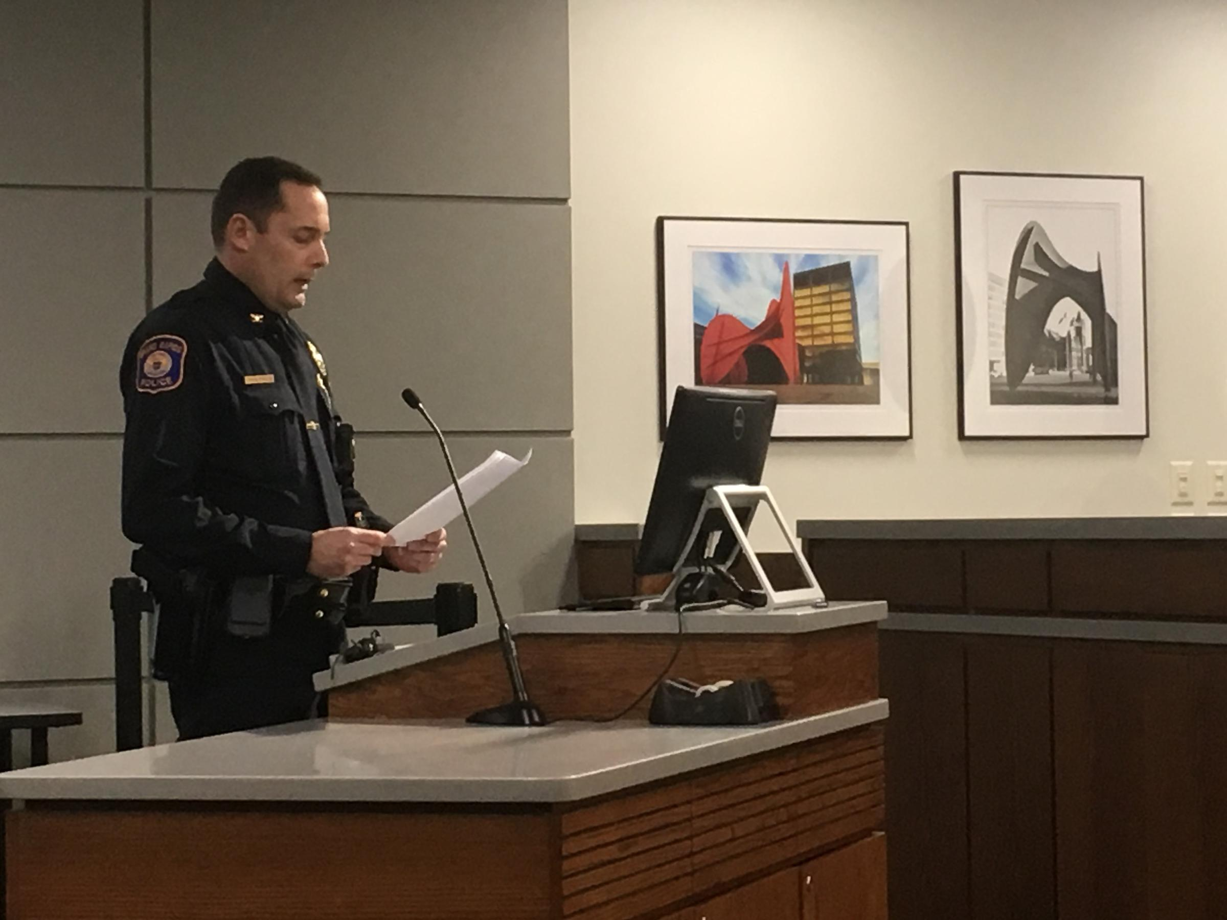 Protesters disrupt Grand Rapids city commission meeting