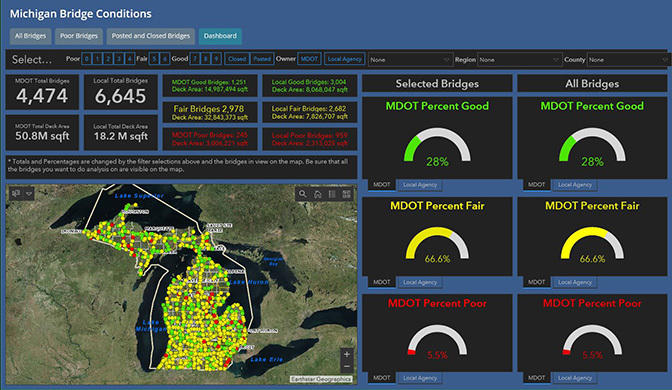 MDOT's new interactive map lets you check on bridge status