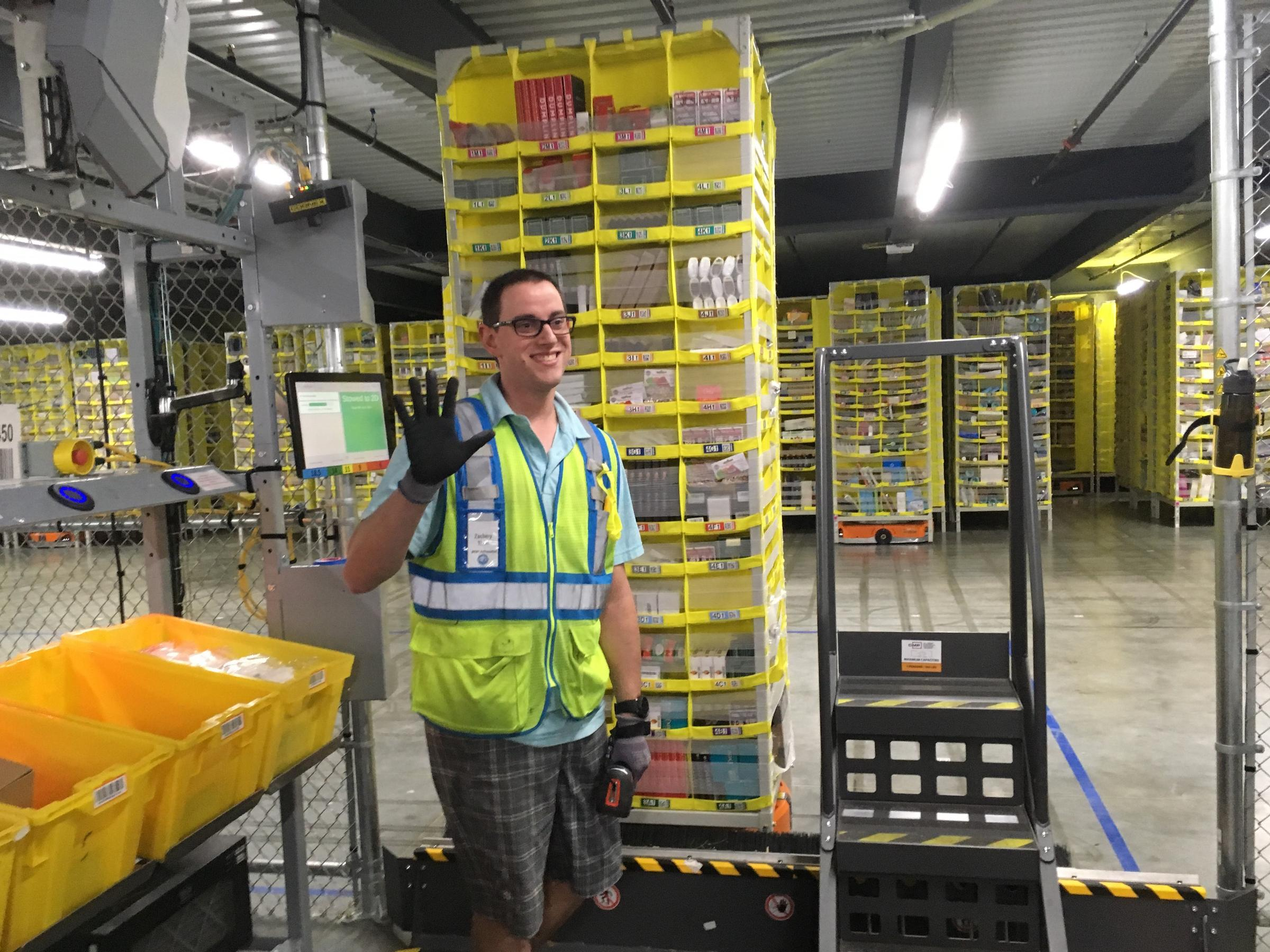 Inside Amazon's massive new fulfillment center in Romulus