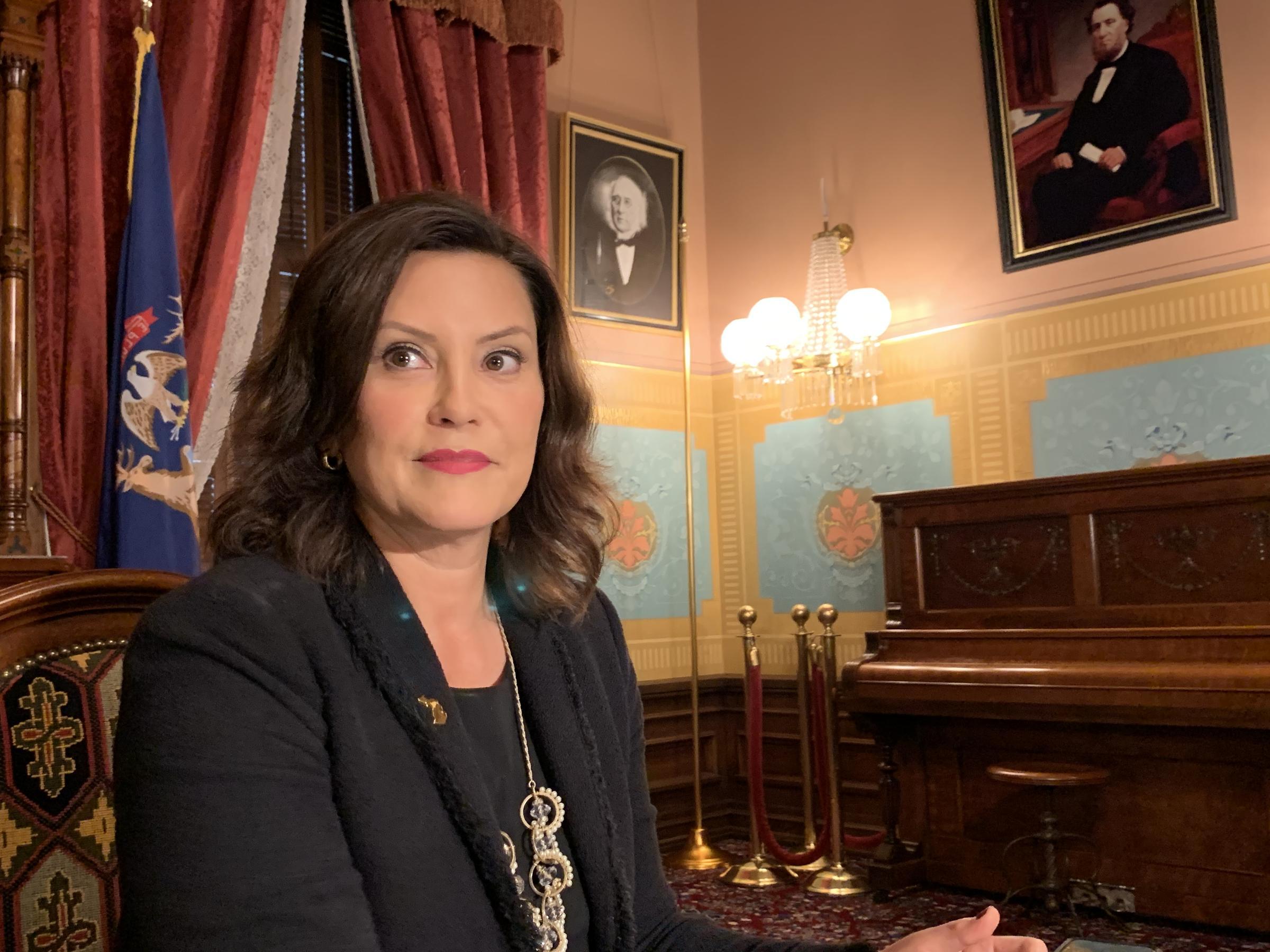 Gov Gretchen Whitmer Will Deliver Democratic Response To State Of The Union Address Michigan Radio