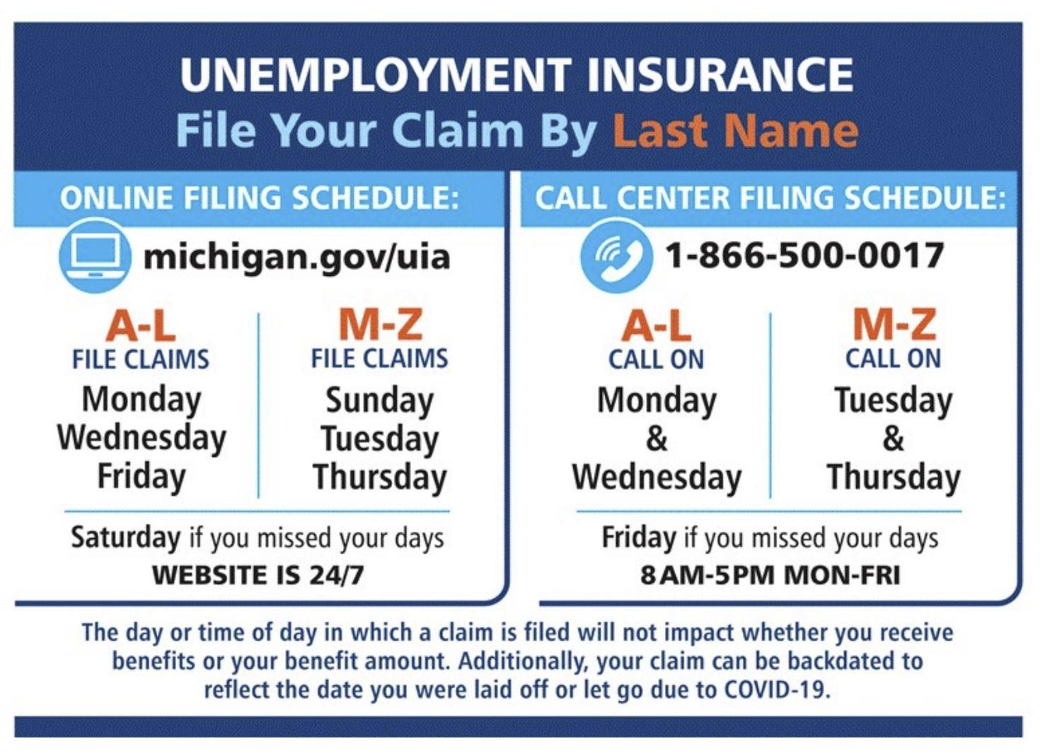 Here S How To File For Unemployment And Pandemic Unemployment Assistance Michigan Radio