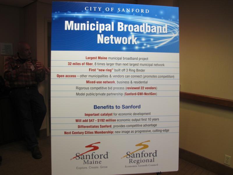 Sanford to Build 32-Mile Municipal Broadband Network | Maine