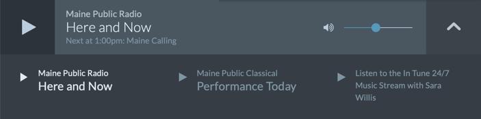 Listen Live!   Maine Public