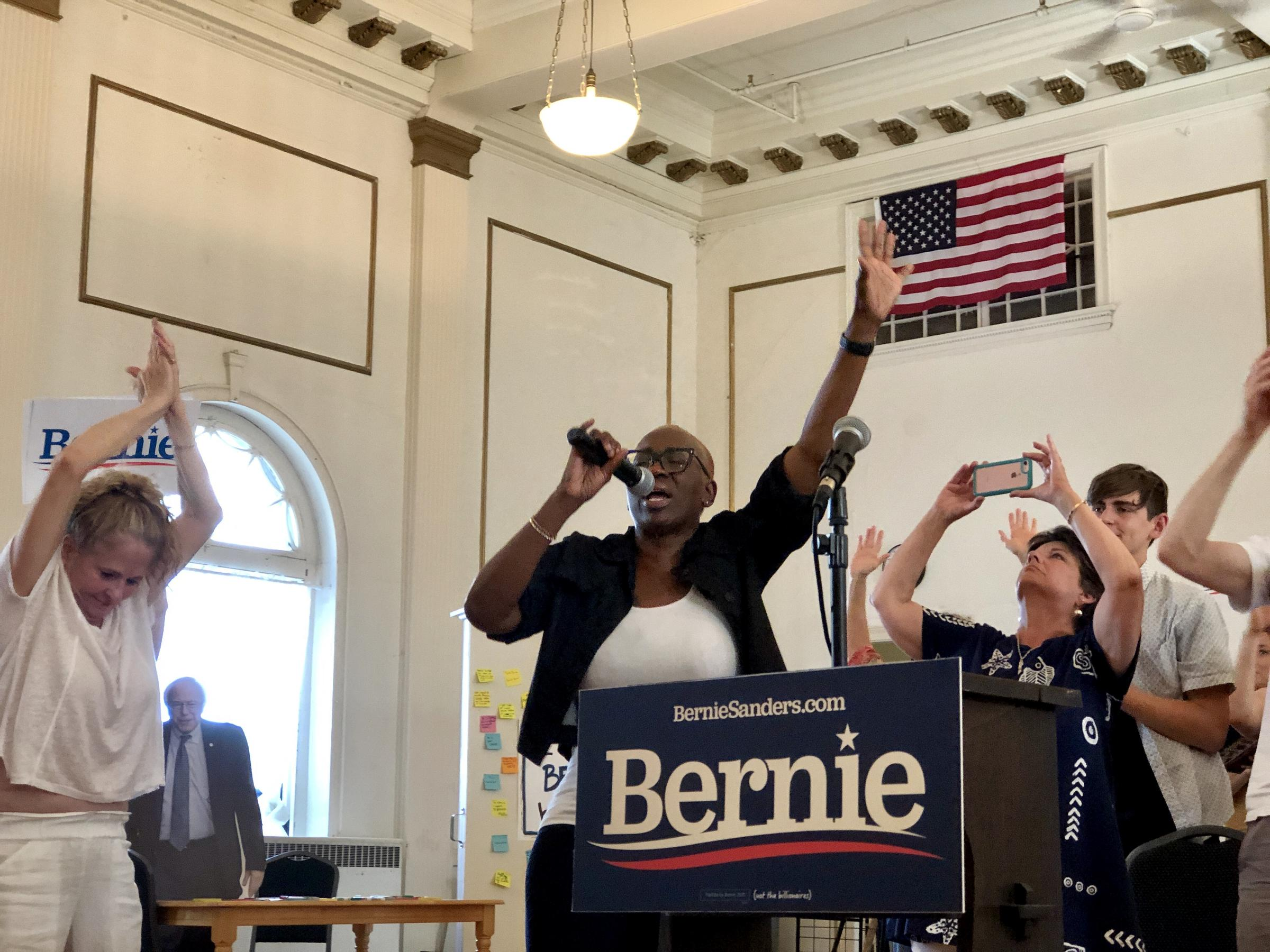 Bernie Sanders Revisits Portland, But He Faces More