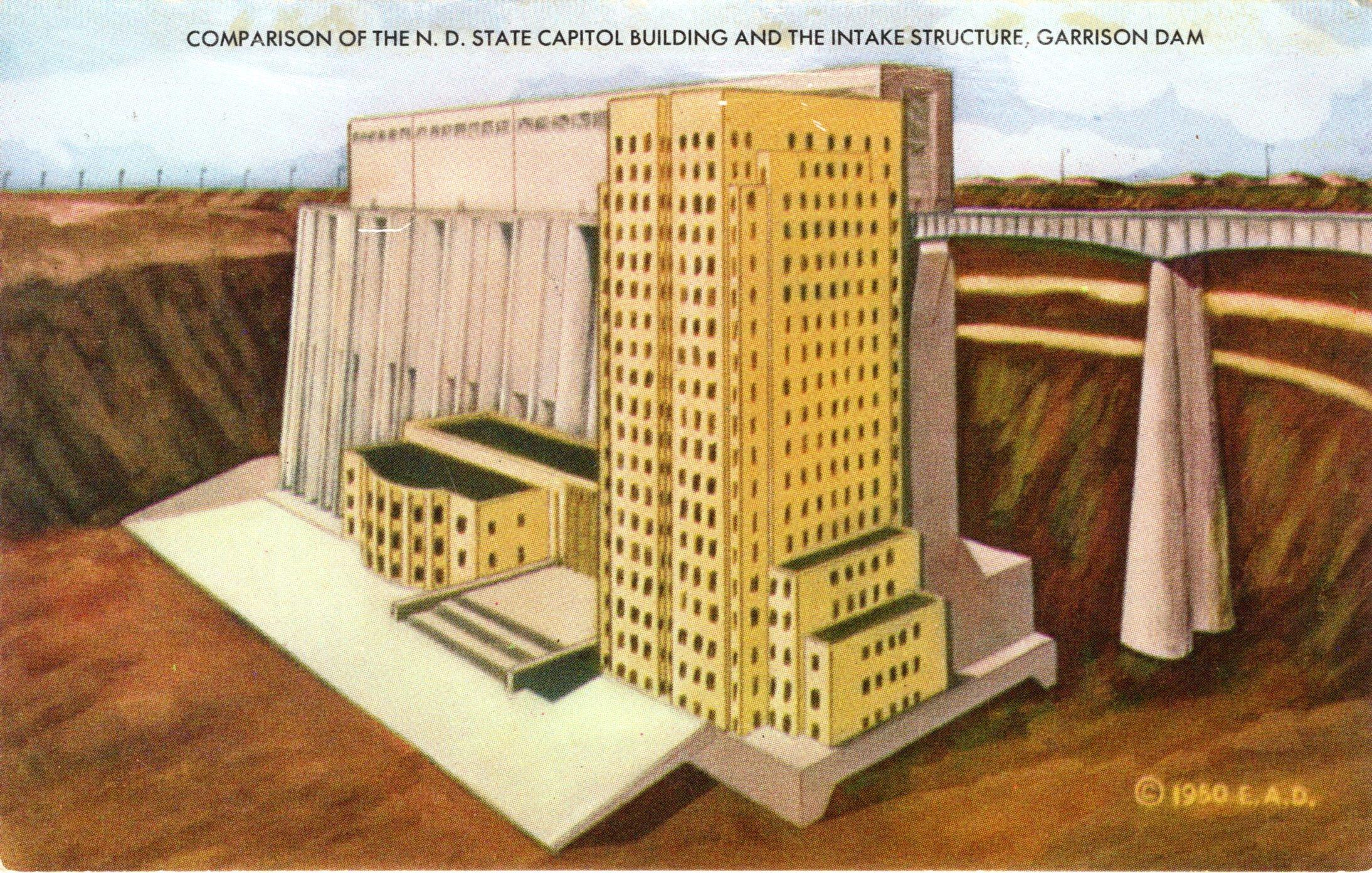 Garrison Dam Souvenir Edition   Prairie Public Broadcasting
