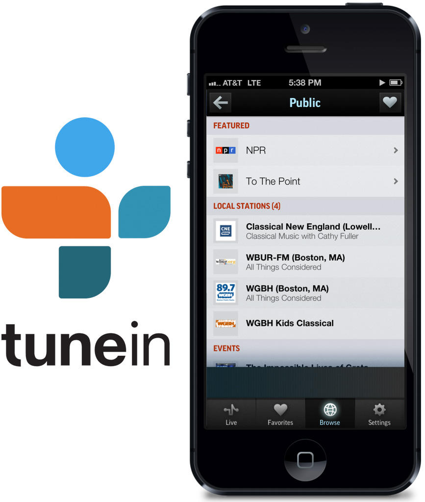 Public Radio Streaming on TuneIn Is Growing Faster Than You