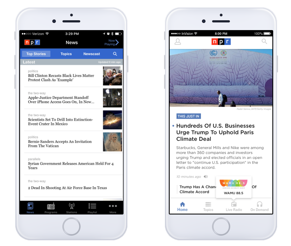 Rebuilding the NPR News App from the ground up | NPR Digital Services