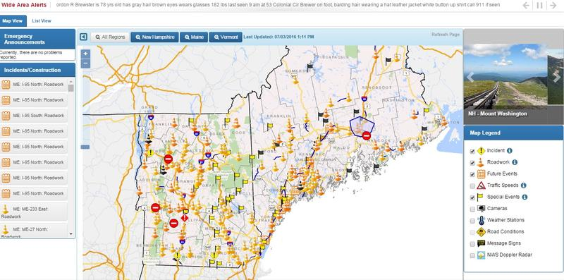 Northern New England States Launch New Road And Travel Portal For Drivers