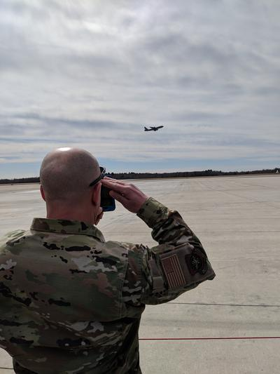 Pease Salutes Final Departure Of KC 135 Refueling Tanker