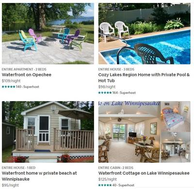 Laconia Approves Rules To Regulate Airbnb Rentals New Hampshire