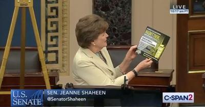 image regarding C Span Printable Tv Schedule identified as Shaheen Criticizes Corporations At the rear of Wonder Health care Monthly bill Advertisements