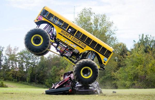 Monster Truck Dog >> 10 Monster Trucks With Not So Tough Names New Hampshire