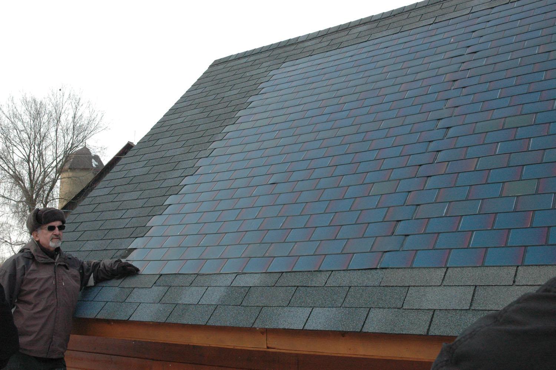 Solar Roof Shingles   New Hampshire Public Radio