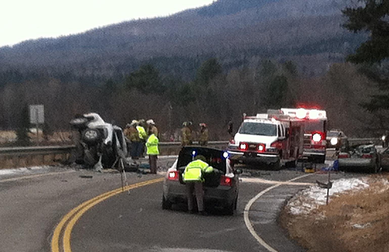 Crossover Crash Kills One In Columbia | New Hampshire Public
