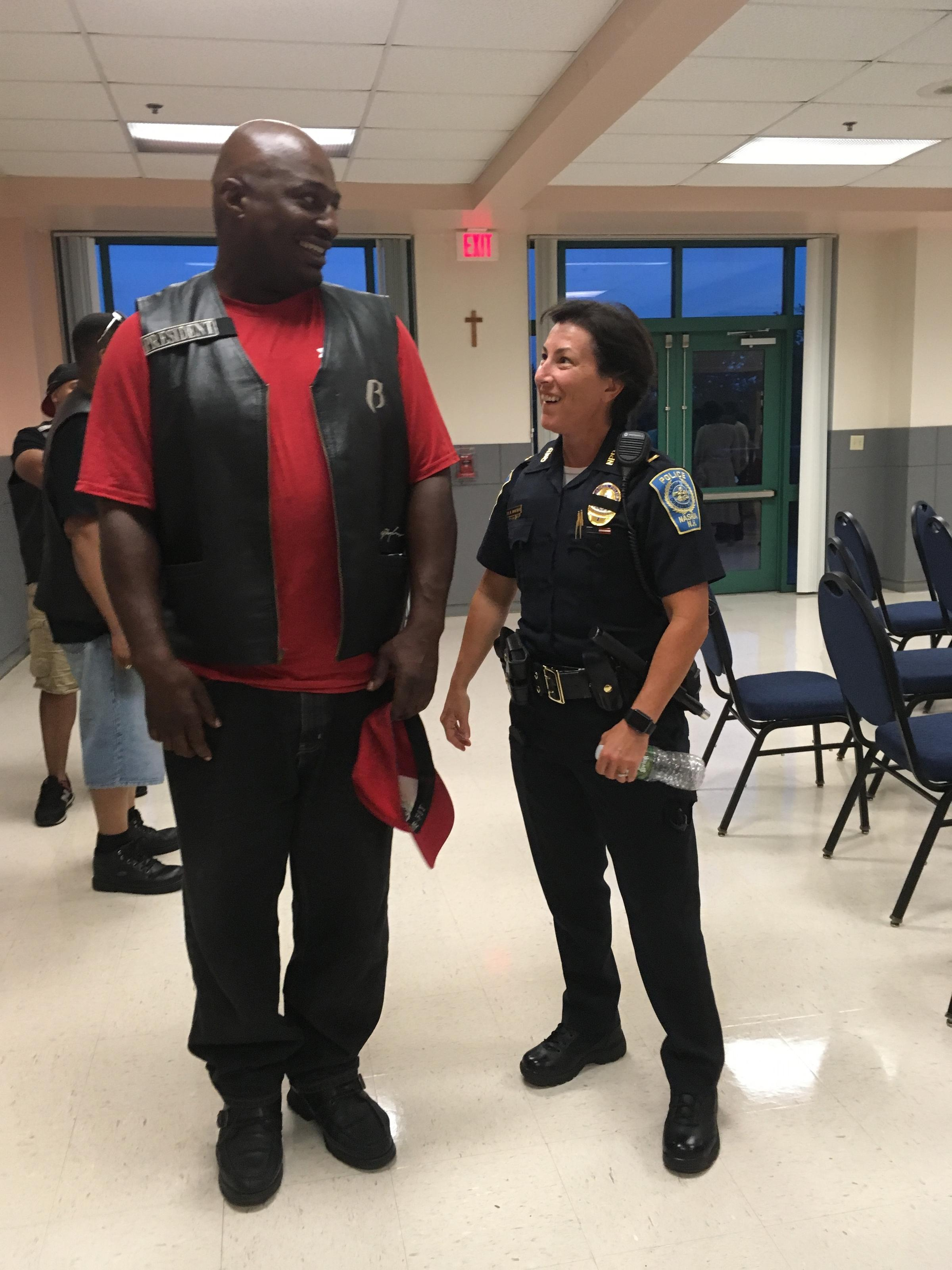 Officers And Residents Talk Race And Policing In Nashua | New